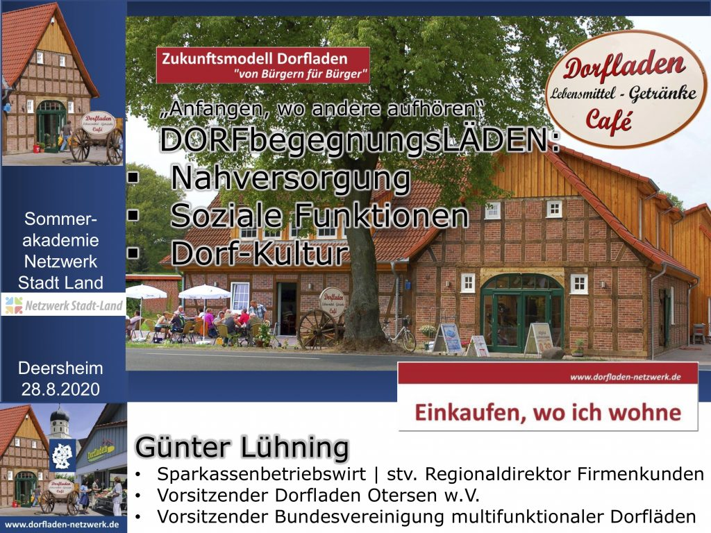 Präsentation Sommerakademie Deersheim